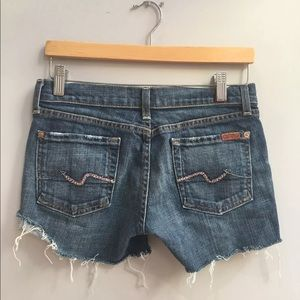 7 for all mankind 26 Shorts